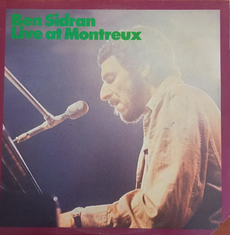 Ben Sidran / Live at Montreux, LP