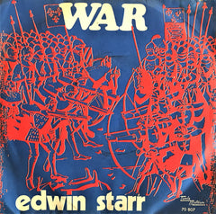 Edwin Starr, War / Me Who Picks a Rose, 45'lik