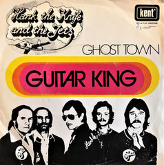 Hank the Knife and the Jets, Guitar King / Ghost Town, 45'lik