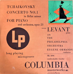 Tchaikovsky, Ormandy / Concerto No.1 for Piano, LP