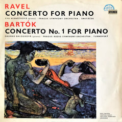Ravel, Bartok / Concerto For Piano, concerto No. 1 for Piano LP