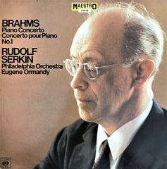 Brahms / Piano Concerto No.1, LP