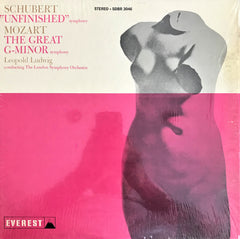 "Schubert, Mozart / Symphony No. 8 ""Unfinished"",  Symphony No. 40, LP"