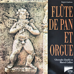 Georghe Zamfir, Marcel Cellier / Improvisations Flute De Pan, LP