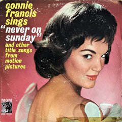 Connie Francis / Sings ''Never On Sunday'' and Other Title Songs From Motion Pictures, LP