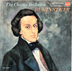 Artur Rubinstein / The Chopin Ballades, LP