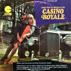 George Mann Orchestra Featuring The Golden Trumpet / Theme from The Motion Picture Casino Royale, LP