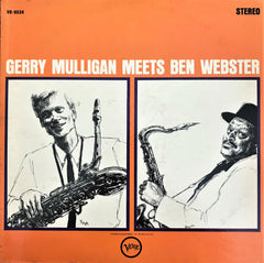 Gerry Mulligan & Ben Webster / Gerry Mulligan Meets Ben Webster, LP