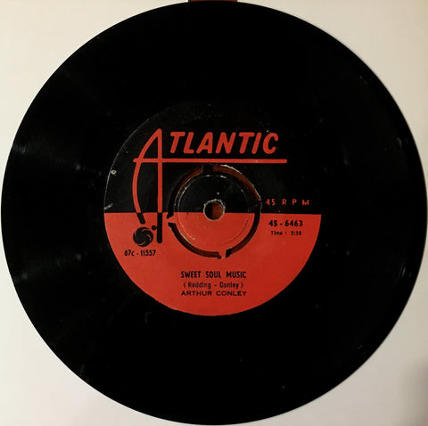 Arthur Conley, Sweet Soul Music / Let's Go Steady, 45'lik