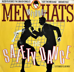 Men Without Hats / The Safety Dance (Extended 'Club Mix'), 12'' Single