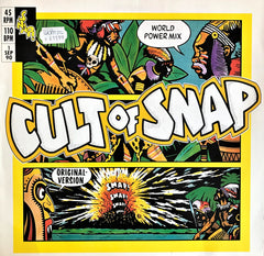 Snap! ‎/ Cult Of Snap (World Power Mix), 12'' Single