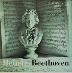 Beethoven, Heifetz / Sonatas Nos. 8 and 10, LM-1914, LP