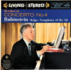Beethoven, Arthur Rubinstein / Concerto No. 4 in G Major, LSC-2123, LP
