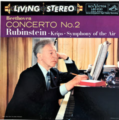 Beethoven, Arthur Rubinstein / Concerto No. 2 in B-Flat, LSC-2121, LP