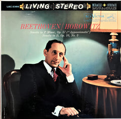 Beethoven, Horowitz / Sonata in F Minor (Appassionata), Sonata No. 7 in D, LSC-2366, LP