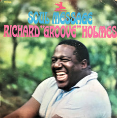 "Richard ""Groove"" Holmes ‎/ Soul Message, LP"