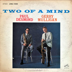 Paul Desmond & Gerry Mulligan ‎/ Two Of A Mind, LP