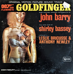 John Barry ‎/ Goldfinger (Original Motion Picture Score), LP