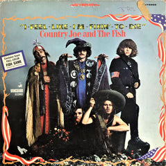 Country Joe And The Fish ‎/ I-Feel-Like-I'm-Fixin'-To-Die, LP