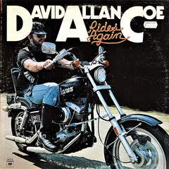 David Allan Coe ‎/ Rides Again, LP