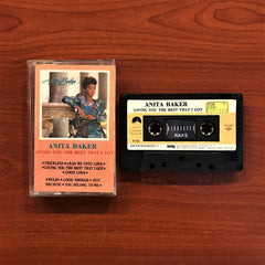 Anita Baker / Giving You The Best I Got, Kaset