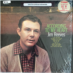 Jim Reeves / According to my Heart, LP