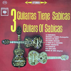 3 Guitarras Tiene Sabicas / Guitars of Sabicas, LP