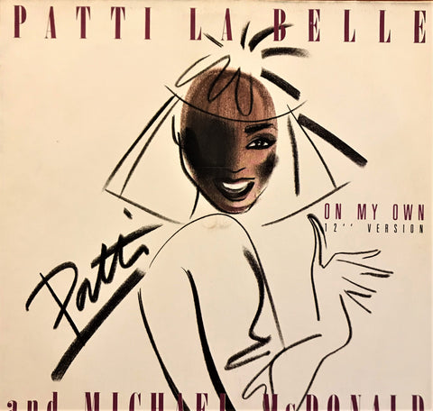 Patti La Belle & Michael McDonald / On My Own, 12'' Single