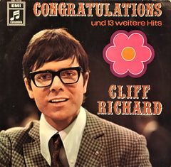 Cliff Richard / Congratulations & 13 Hits, LP