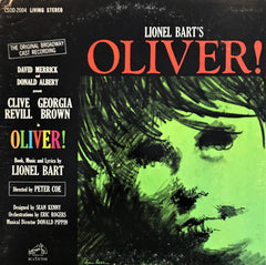 Lionel Bart ‎– Oliver! The Original Broadway Cast Recording, LP
