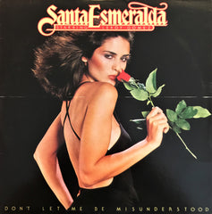 Santa Esmeralda Featuring Leroy Gomez ‎– Don't Let Me Be Misunderstood, LP