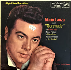 "Mario Lanza / Sings in ""Serenade"", LP"