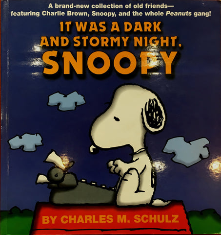 It Was A Dark And Stormy Night Snoopy, Kitap