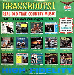 Çeşitli Sanatçılar / Grassroots! Real Old Time Country Music, LP