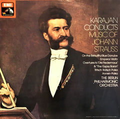 Johann Strauss / Karajan Conducts Music Of Johann Strauss, LP