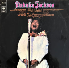 Mahalia Jackson / Welcome To Europe, LP