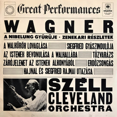 Wagner, Szell / Great Performances, LP