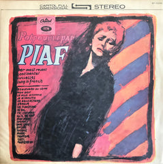 Edith Piaf – Potpourri Par - her most recent continental successes sung in French, LP