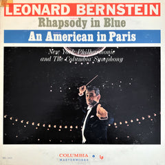 Gershwin, Leonard Bernstein / Rhapsody In Blue - An American In Paris, LP