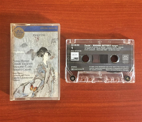Puccini / Madama Butterfly, Kaset