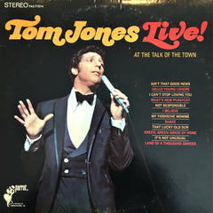 Tom Jones / Live At The Talk Of The Town, LP