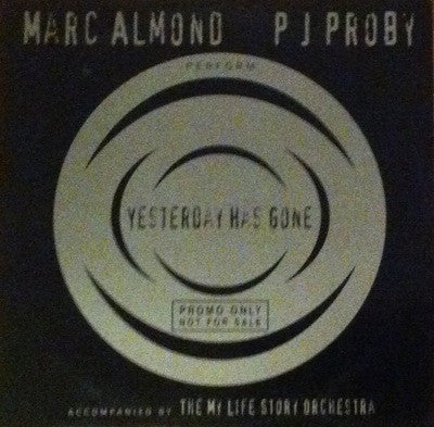 Marc Almond / Yesterday Has Gone, Promo CD