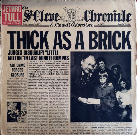 Jethro Tull / Thick As a Brick, LP