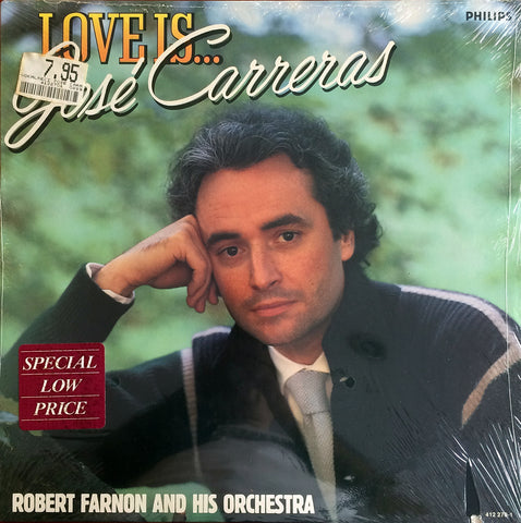 Jose Carreras / Love Is..., LP