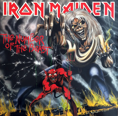 Iron Maiden ‎/ Number of the Beast, LP