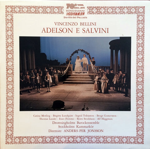 Bellini / Adelson e Salvini, 3 LP Box