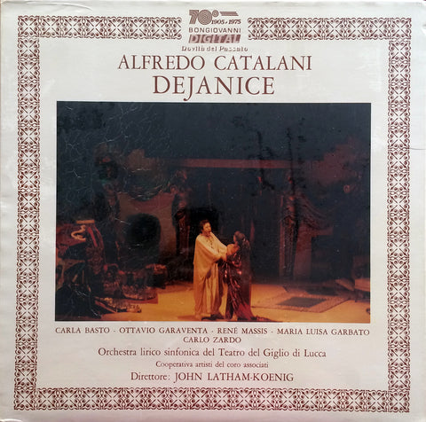 Alfredo Catalani / Dejanice, 3 LP Box