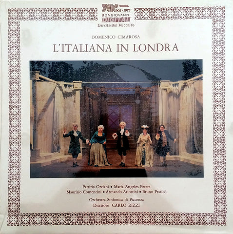 Domenico Cimarosa / L'Italiana in Londra, 3 LP Box