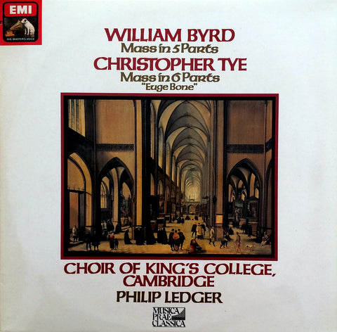 William Byrd / Mass in 5 Parts, Christopher Tye / Mass in 3 Parts, LP