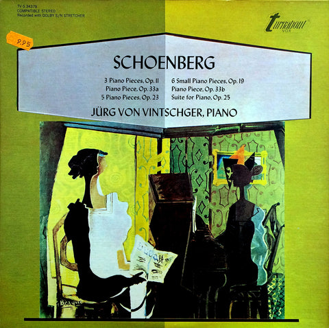 Schoenberg / Piano Pieces, LP